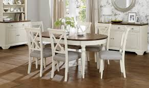 oak painted wadebridge extending table