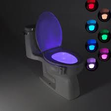 Toilet Bowl Light Uk Details About Toilet Night Light 8 Color Led Motion Sensor Automatic Bowl Seat Sensing Glow Uk