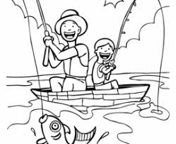 Small Picture Printable Fishing Boat Coloring Pages For Kids Recipes To Try Man