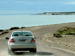 car driving down road. Brilliant Down Car Driving Down Coastal Road Argentina To Car Driving Down Road D