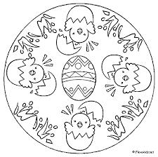 Mandala Kleurplaten Pasen