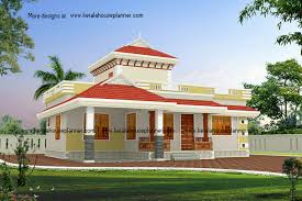 Small Picture Slope Roof Low Cost Home Design Kerala 2017 Also Budget House With