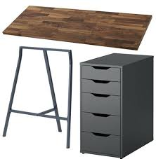 ikea karlby countertop desk