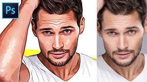 convert photo or face into cartoon