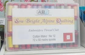 Aurifil Stockists | Always Playing with Aurifil Thread & Sew Bright Alpine Quilting Thread Club Adamdwight.com