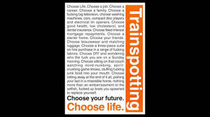Choose Life - Trainspotting - YouTube
