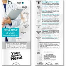 Heart Attack Chart Pocket Slider Heart Attack Stroke Symptoms And Warning Signs