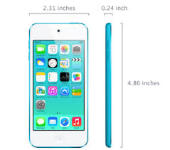 sp657 ipod touch size