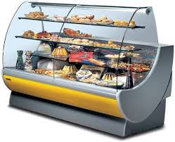 pastry display showcases