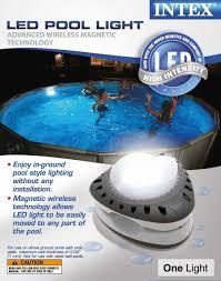 Intex Above Ground Led Magnetic Swimming Pool Light 28687e