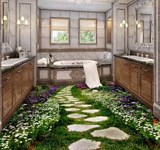 office floor design. Tiles Are The Most Common Choice For Bathroom Flooring, But If You Want To Make Floor More Eye-catching, Then May Add Some 3D Designs. Office Design E