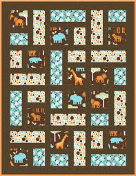 Menagerie Quilt Pattern. Free Download - coming soon! Make it in 4 ... & Menagerie Quilt Pattern. Free Download - coming soon! Make it in 4  colorways! Adamdwight.com