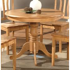 Antique Round Kitchen Table Parawood Furniture Antique Collection Round 36 Casual Dining