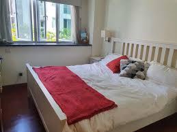 ikea king size hemnes bed frame 180cm