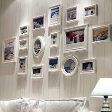 white pcs wooden ture frame collage wall frames for porta retrato set moldura vintage from home garden sizes multi large box family window square unique