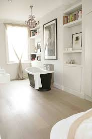 storage niches in bathroom