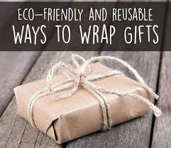 eco friendly and reusable gift wrap ideas