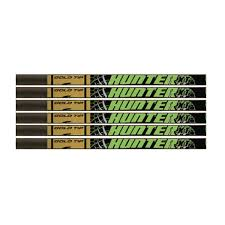Gold Tip Hunter Xt Black 340 Shafts 1 Dozen Bowhunters