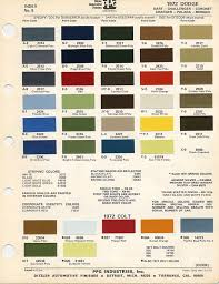 Vw Spring Color Chart Blue Streak Car Paint Colors Car Painting Paint Code