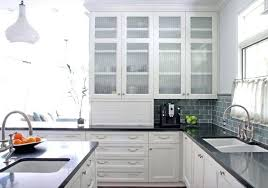 white cabinet with glass doors high glass kitchen cabinet doors small white kitchen designs useful suggestions