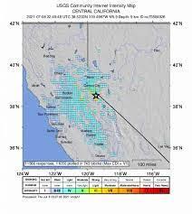 earthquake cluster near Tahoe