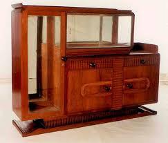 art deco teak display cabinet art deco furniture cabinet