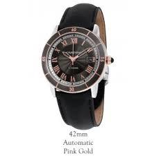 buy discount cartier ronde de cartier watches from precisiontime cartier crw2rn0005 ronde croisiere de cartier 42mm automatic mens watch
