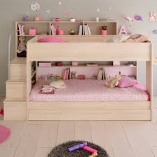 kids beds with storage for girls. Parisot-Kurt-Bibop-Acacia-Drawer-Closed.jpg Kids Beds With Storage For Girls