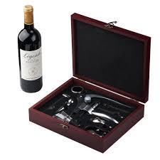 Cooko Wine Opener Set,Manual Wine Bottle Opener Kit with Aerator, Zinc  Alloy Handle