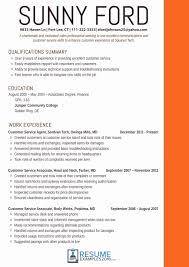 Ats Friendly Resume Template Unique Effective Customer Service