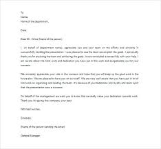 Employee Thank You Note Letter Of Gratitude To Appreciation