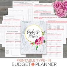 Household Budget Form Budget Planner Printable Monthly Household Budget Form Etsy