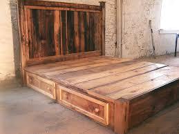 rustic platform bed. Rustic Platform Bed Mahogany