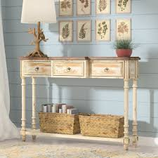 Rose Cottage Country Kitchen Cottage Country Console Sofa Tables Youll Love Wayfair