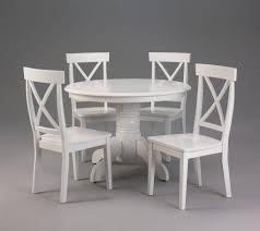 Round Kitchen Tables For 4 Round White Kitchen Table Set Best Kitchen Ideas 2017