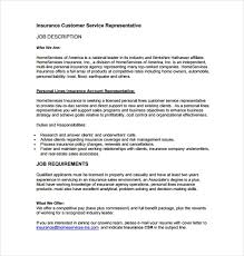Get Customer Service Jobs Customer Service Job Description Templates 15 Free Sample