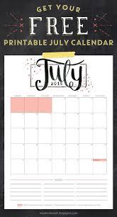 July 2015 Free Printable Calendar And Planner Fathimas Studio