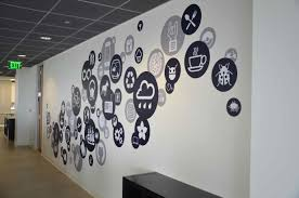 designs ideas wall design office.  design creative office branding using wall graphics from vinyl impression wall  stickers give a professional look to an office or business with in with designs ideas design l