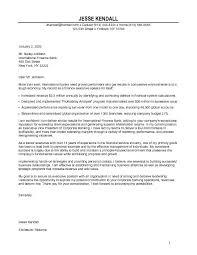 Internship Cover Letter Sample Finance Finance Internship Cover