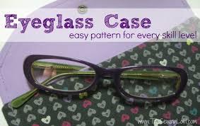 Eyeglass Case   Sunglass Case - The Sewing Loft & Easy Eyeglass Case Pattern on The Sewing Loft #sewing #freepattern Adamdwight.com