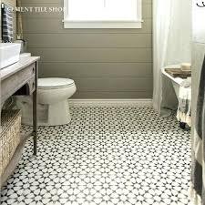 cement tile bathroom floor cement tile cement tile white black and white cement tile bathroom floor