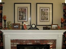 decorating fireplace mantels for spring