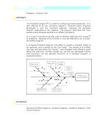 Cause And Effect Diagram Template Word Great Diagram Templates Examples Word Excel Diagram Template