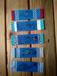 Design Bookmarks Handmade Beautiful Designer Bookmarks