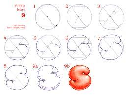 bubble letter S