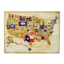 wooden usa map wall art delightful ideas united states wall art with regard to 2017 state
