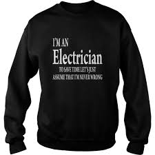 T Shirt For Electricians Quotes