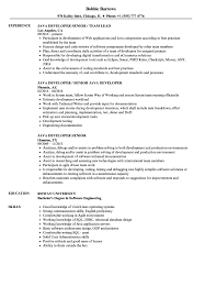 Java Developer Senior Resume Samples Velvet Jobs