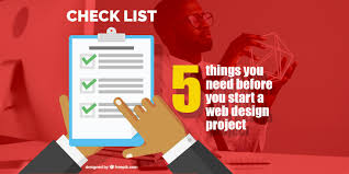 How To Start A Design Project 5 Things You Need Before You Start Your Web Design Project