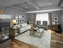 Decorating Rectangular Living Room Model